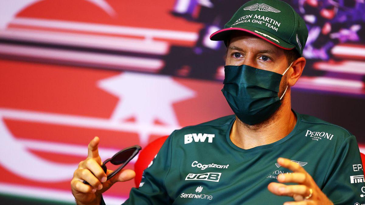 Sebastian Vettel ergatterte sich beim Baku GP einen Platz auf dem Podium