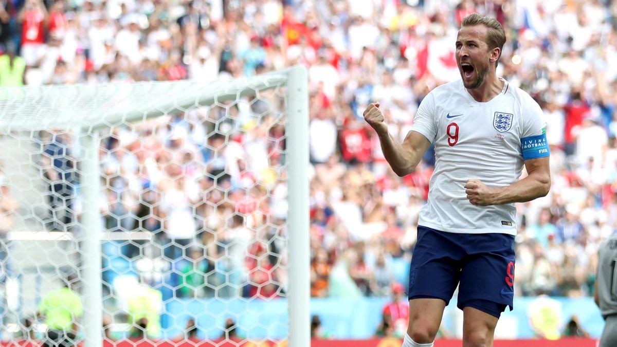 Harry Kane (England) im WM-Spiel gegen Panama