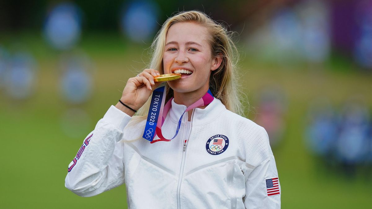 Nelly Korda hat Olympia-Gold im Golf gewonnen