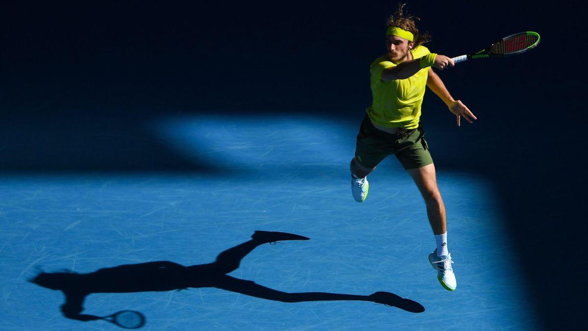 Stefanos Tsitsipas bei den Australian Open 2021