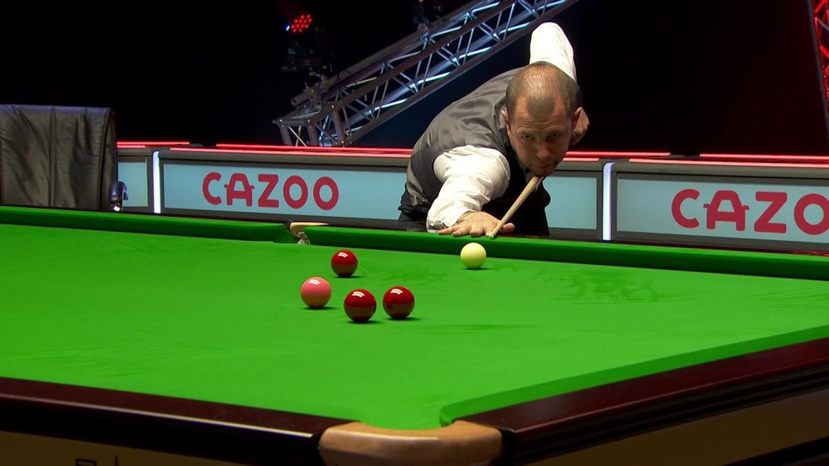 Snooker The player Championship: Barry Hawkins leads 2-0 against O'Sullivan with a break of 109