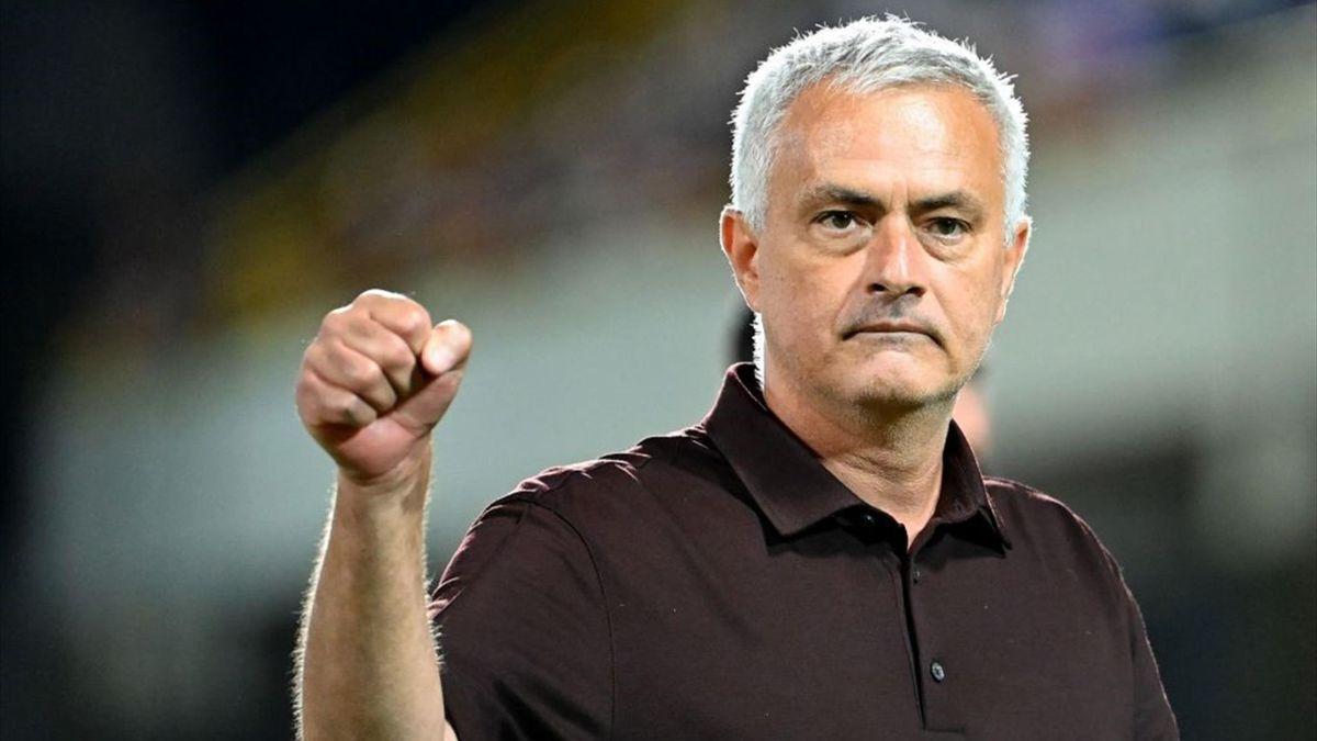José Mourinho - Salernitana-Roma - Serie A 2021-2022