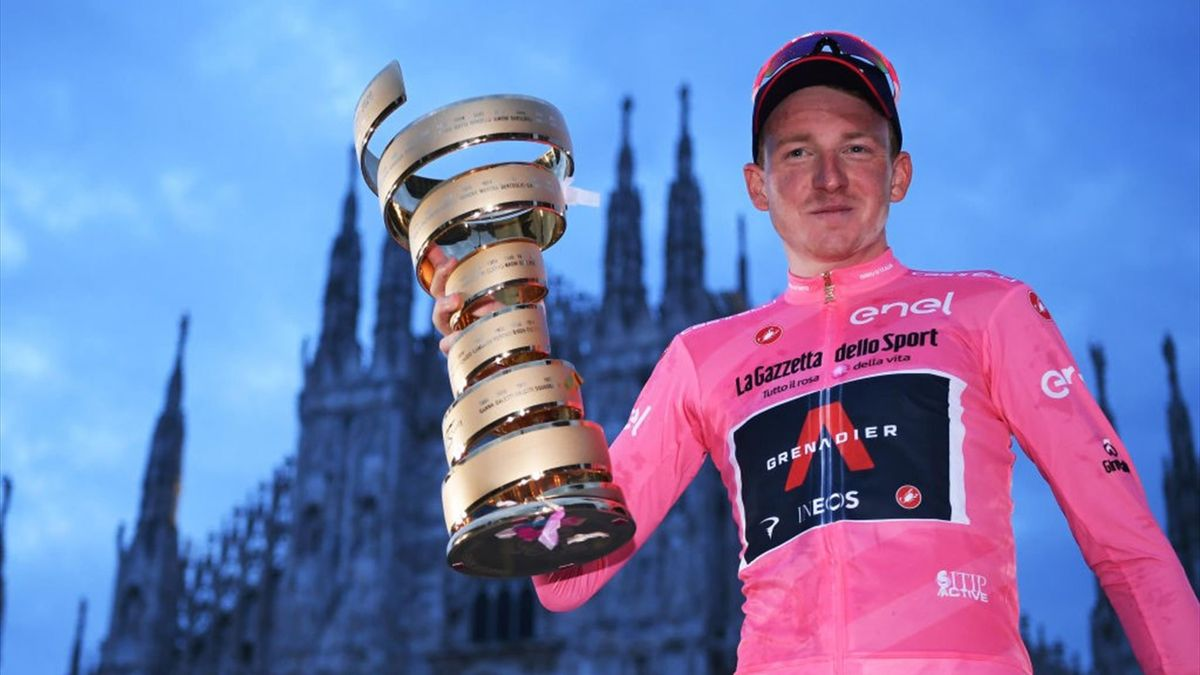 Geoghegan Hart - Giro d'Italia 2020, stage 21 - Getty Images