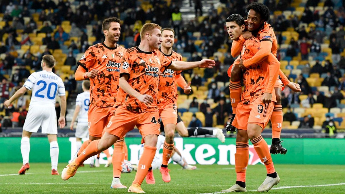 Alvaro Morata (Juventus Turin) against Dynamo Kiev - Champions League