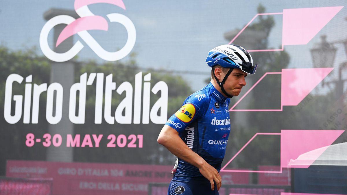 Remco Evenepoel (Deceuninck-Quick Step) au départ de la 15e étape du Giro 2021