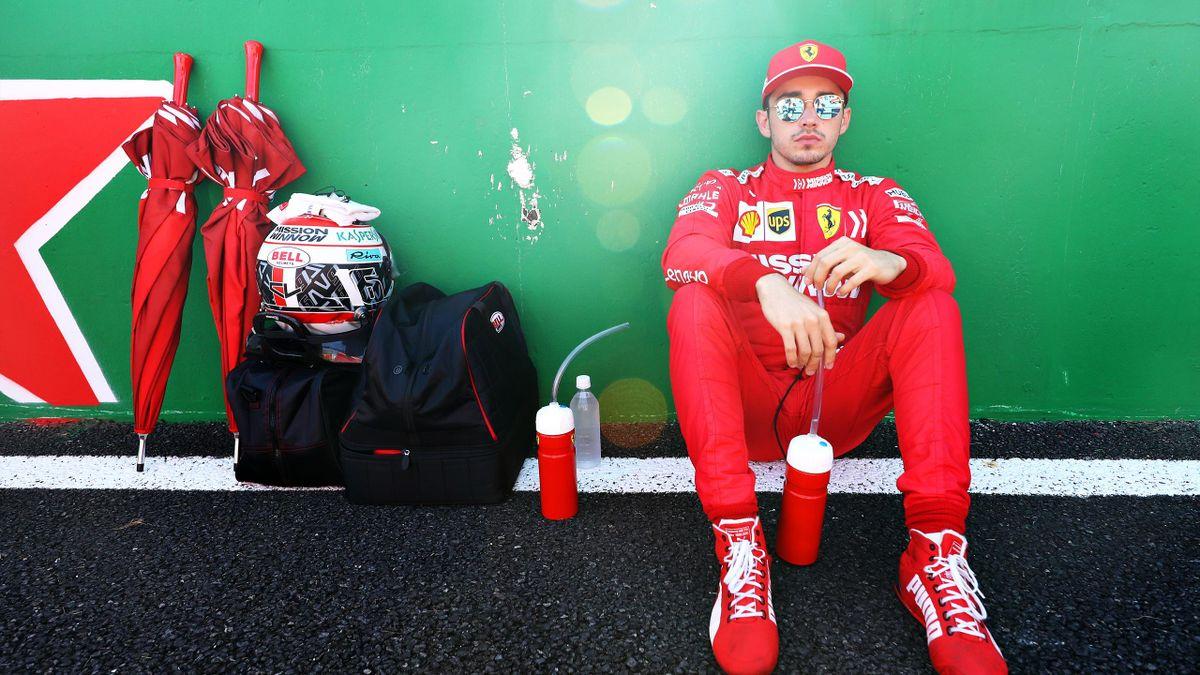Charles Leclerc (Ferrari) au Grand Prix du Japon 2019