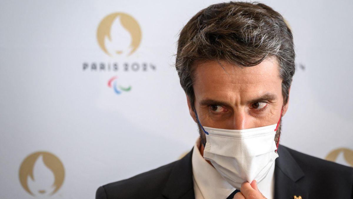 Tony Estanguet, patron du Comité d'organisation des Jeux Olympiques de Paris 2024