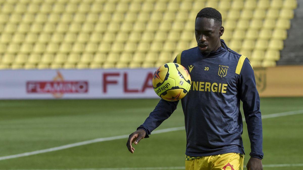 Jean-Kévin Augustin, attaquant du FC Nantes