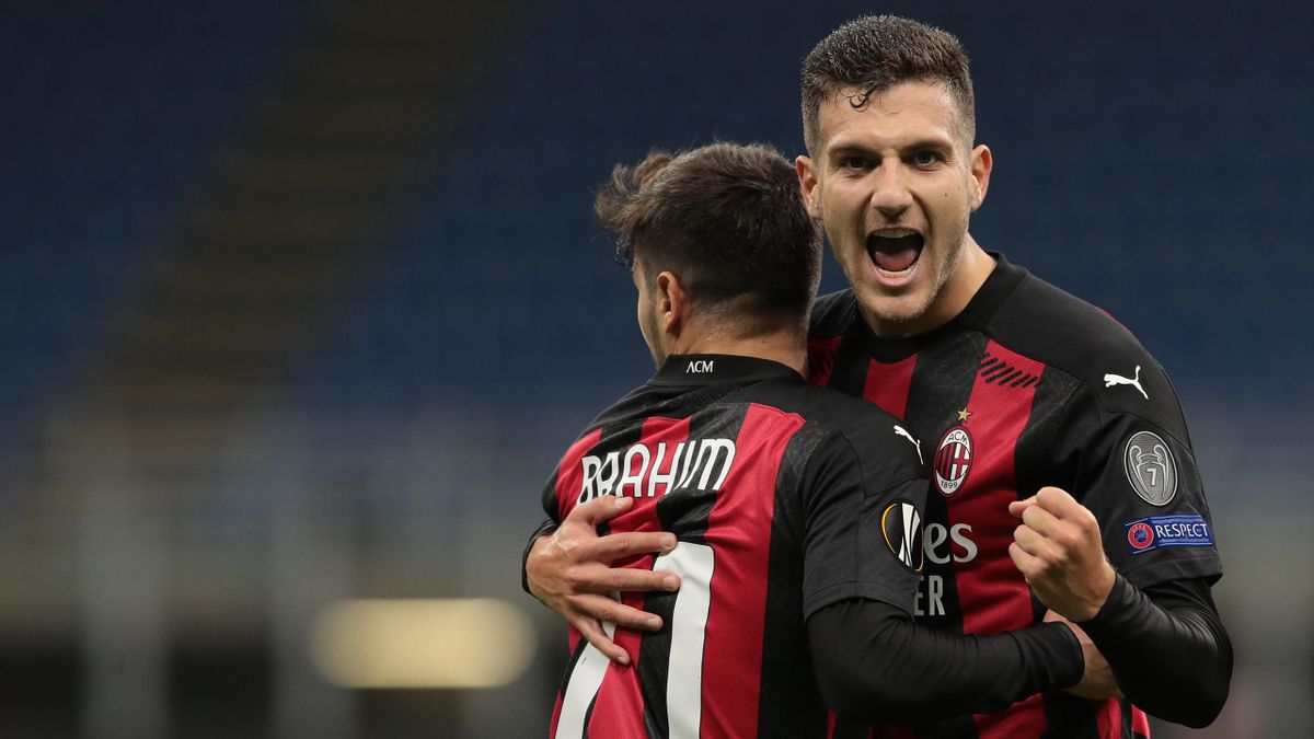 Milan 2020-2021: Brahim Diaz e Diogo Dalot (Getty Images)