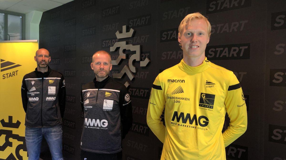 Vegard Bergan. Foto: IK Start