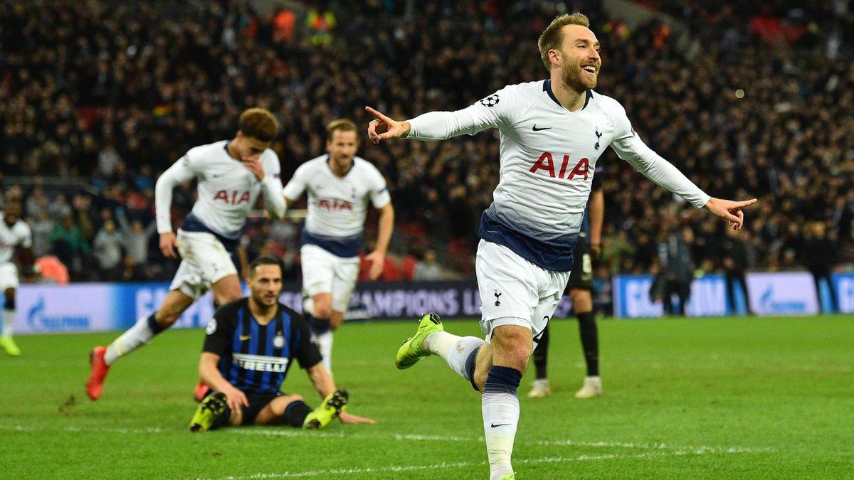Eriksen - Tottenham Hotspur-Inter - Champions League 2018/2019 - Getty Images