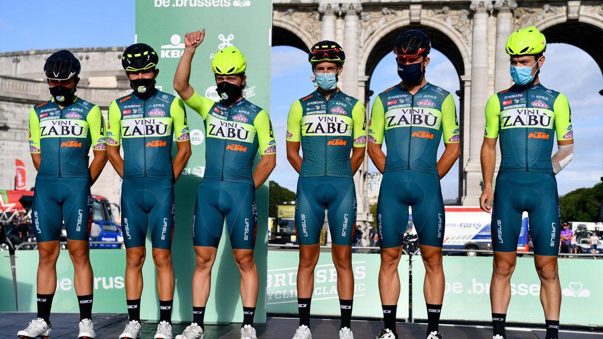 Matteo De Bonis and Vini-Zabu for the 100th Brussels Cycling Classic 2020