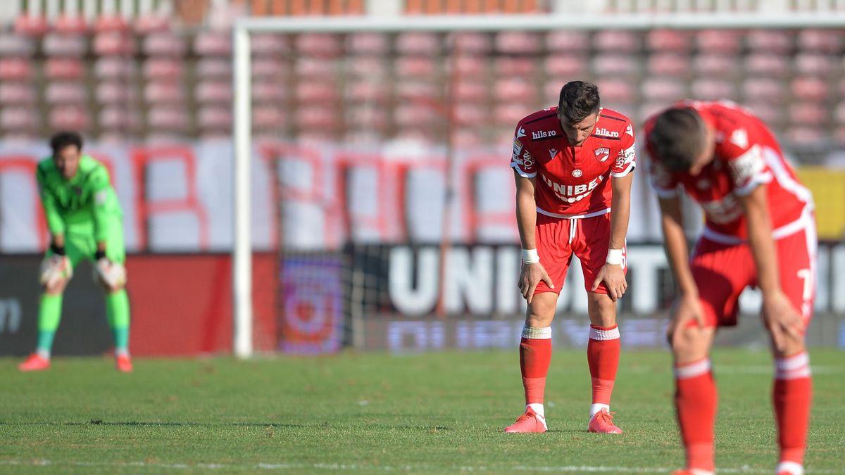 Rămânerea lui Dinamo în Liga 1, sub semnul întrebării