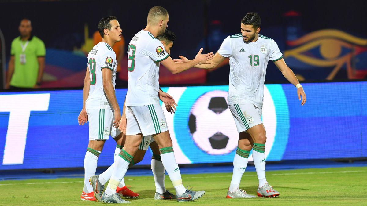 Mehdi Abeid lors d'Algérie - Tanzanie à la Coupe d'Afrique des nations 2019