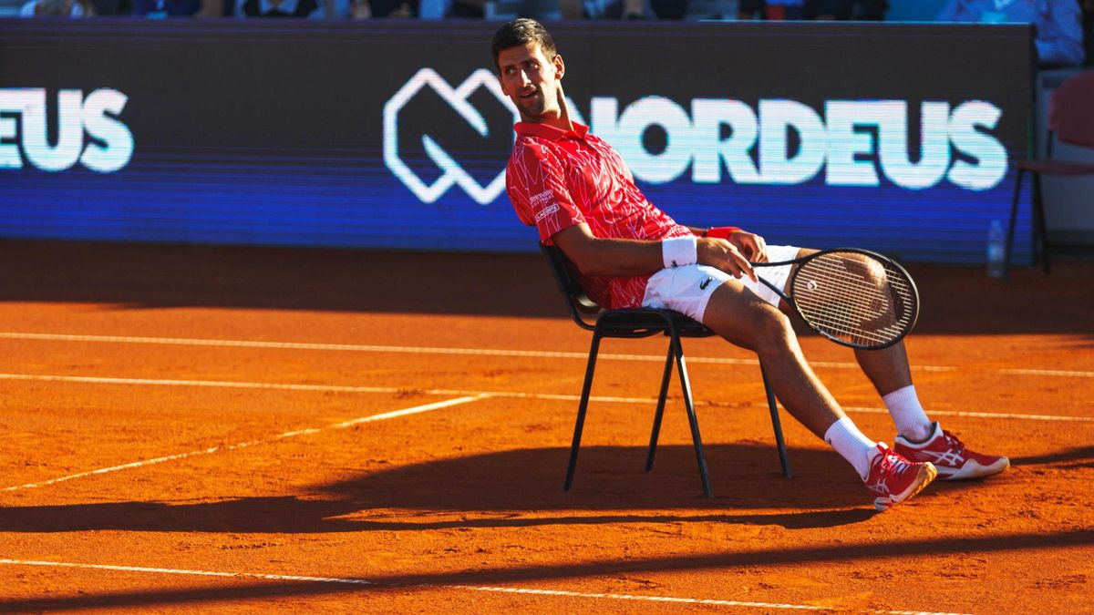 Schwer in der Kritik: Novak Djokovic