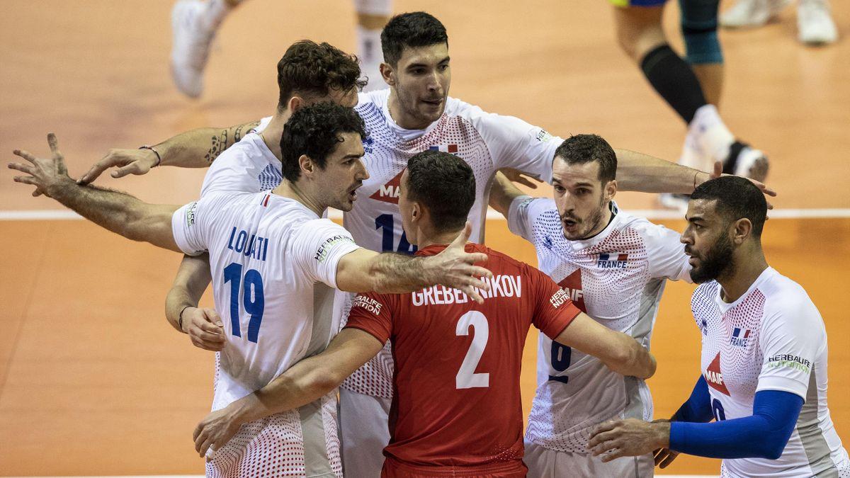 L'équipe de France de volley en demi-finale du TQO