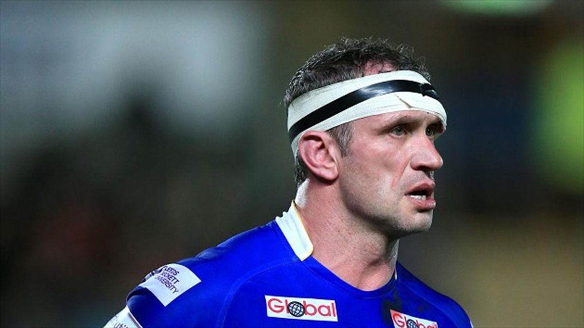 Jamie Peacock scored two tries for Leeds at Salford