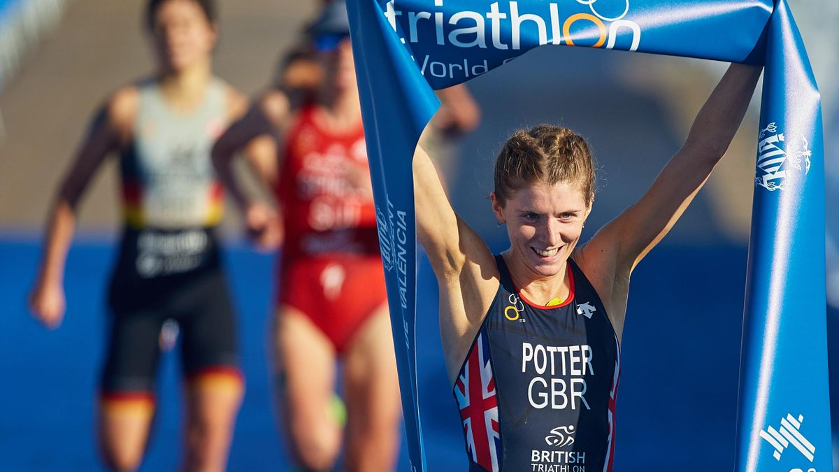Beth Potter had made an impressive transition to triathlon but may need to return to athletics to compete at the Tokyo Olympics