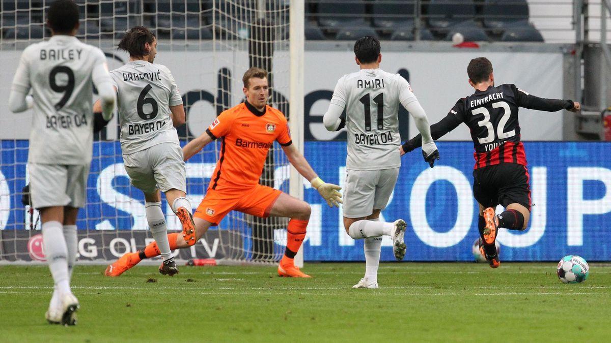 Frankfurts Younes trifft gegen Leverkusen