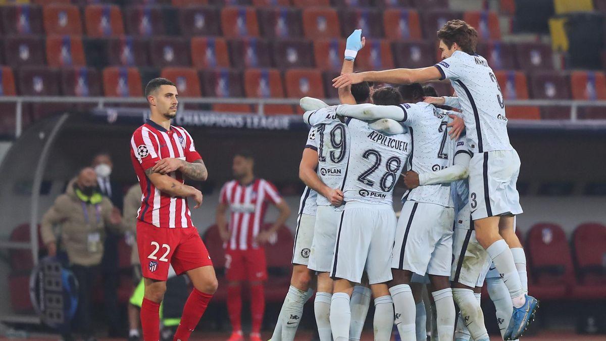Der FC Chelsea gewinnt gegen Atlético Madrid