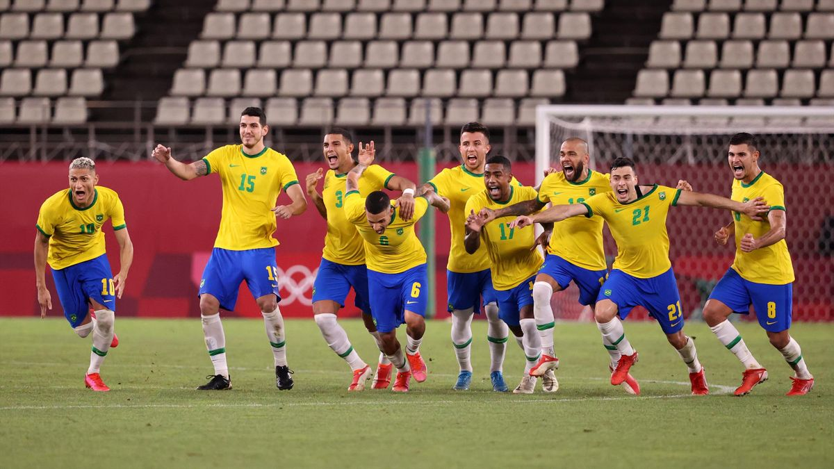 Brasil se clasifica en penaltis para la final de los Juegos Olímpicos Tokio 2020