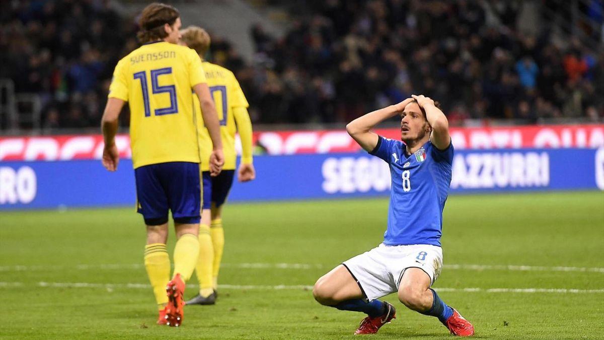 Florenzi - Italy-Sweden - FIFA 2018 World Cup Playoff - LaPresse