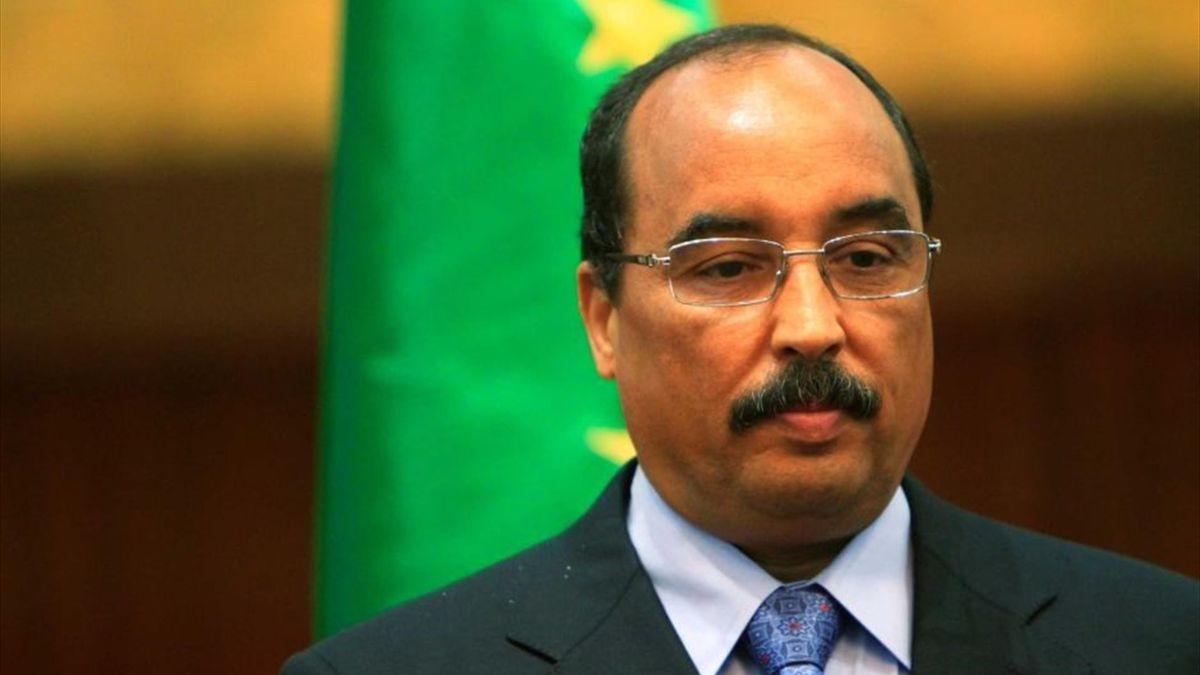 Президент Мавритании Мохаммед ульд Абдель-Азиз