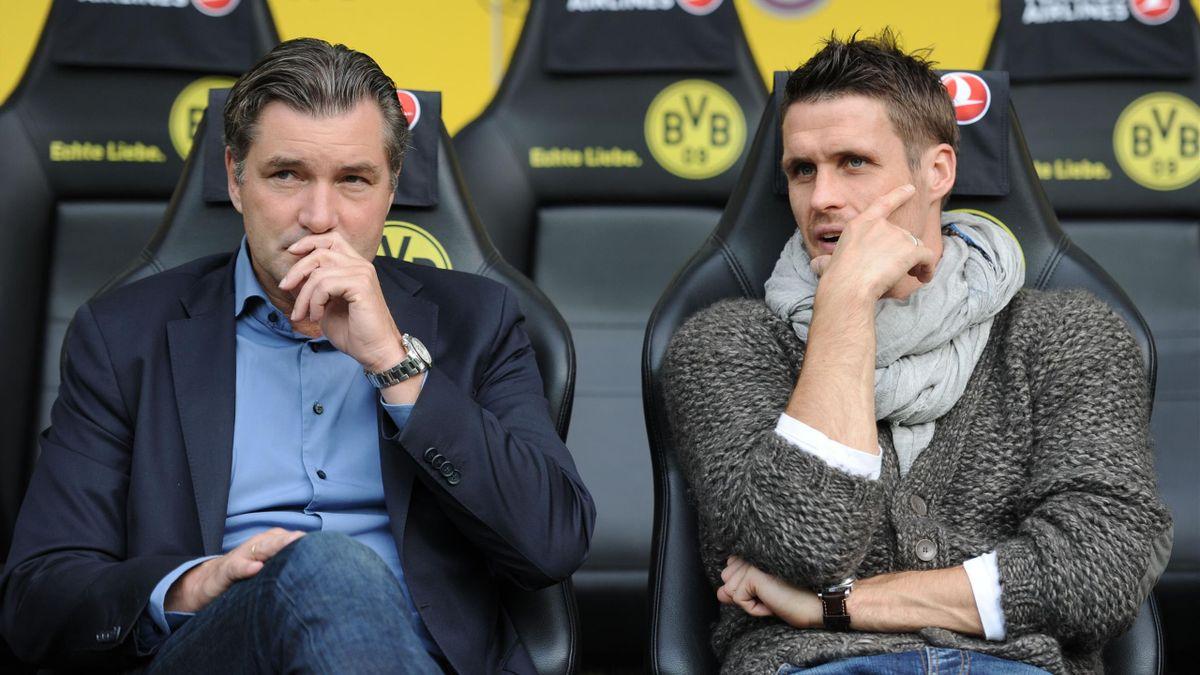 Sebastian Kehl (rechts) soll 2022 Michael Zorc als BVB-Sportdirektor beerben