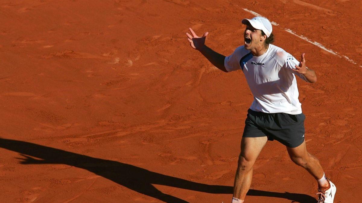 Gaudio vol ongeloof over zijn verrassende eindzege op Roland Garros 2004