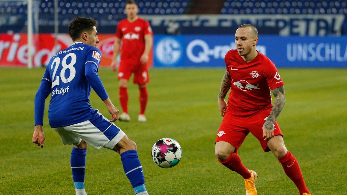 FC Schalke 04 against RB Leipzig