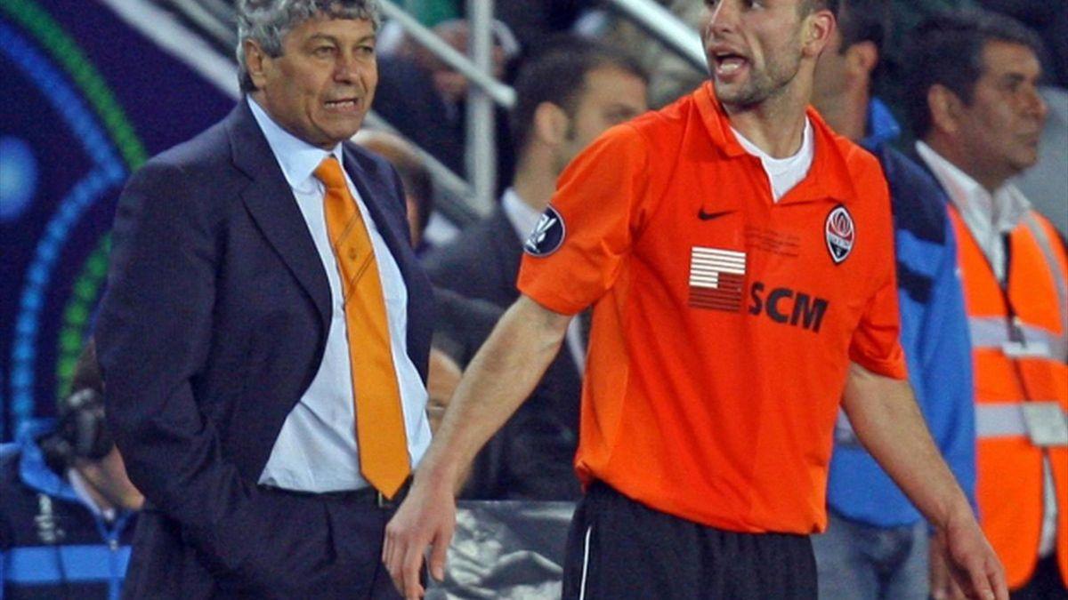 Răzvan Raț & Mircea Lucescu