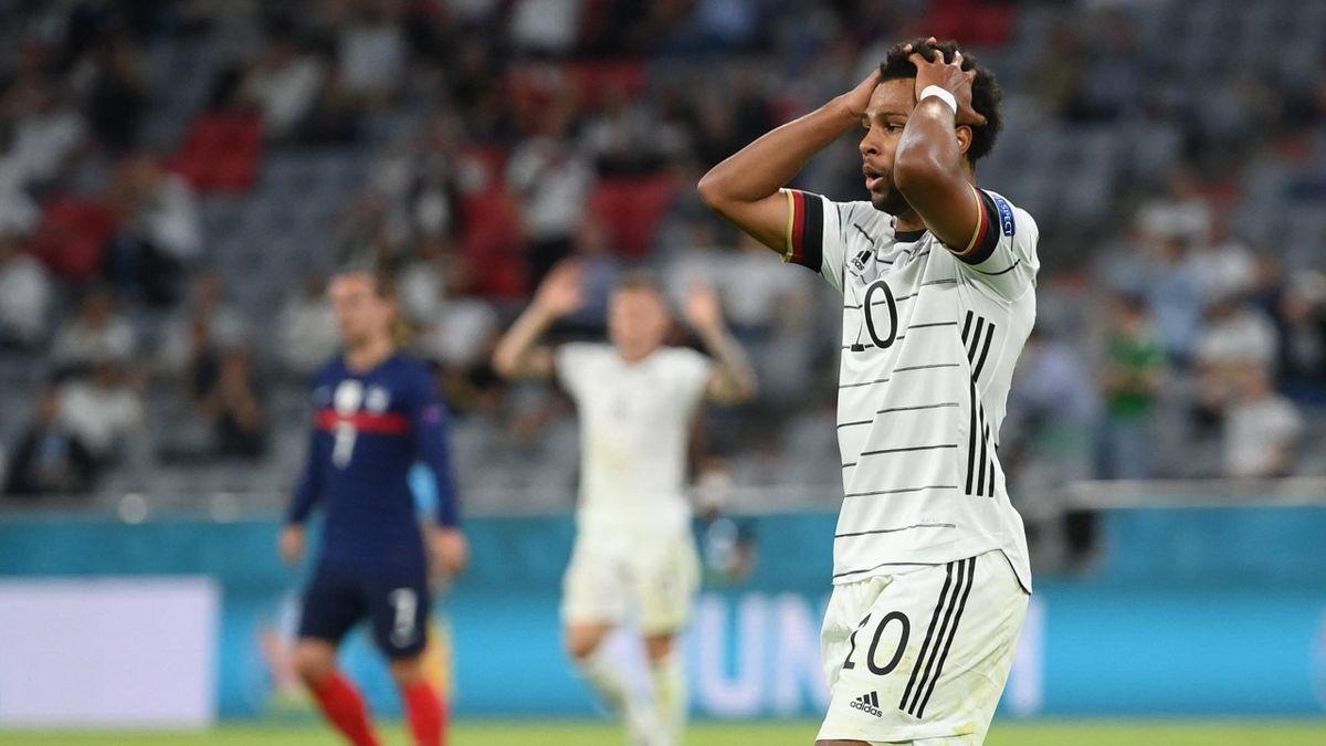 Serge Gnabry (Deutschland) im EM-Spiel gegen Frankreich