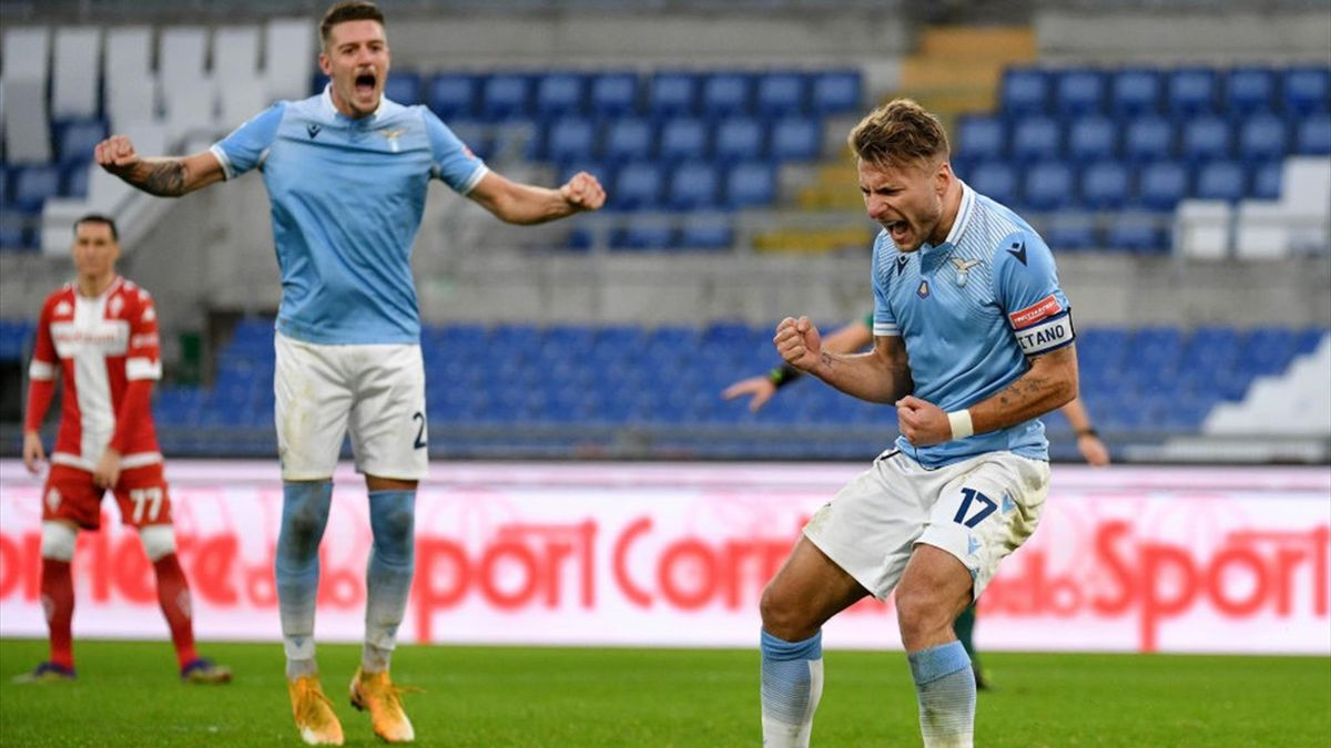 Immobile - Lazio-Fiorentina - Serie A 2020/2021 - Getty Images