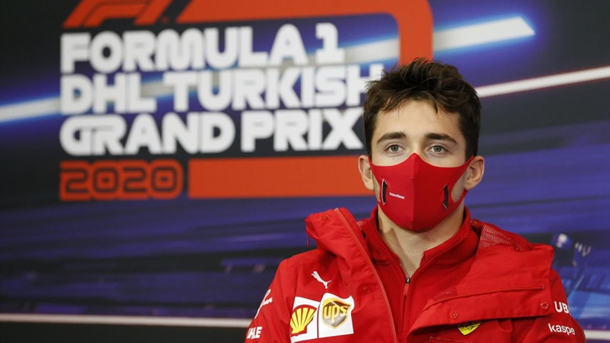 Charles Leclerc, GP di Turchia