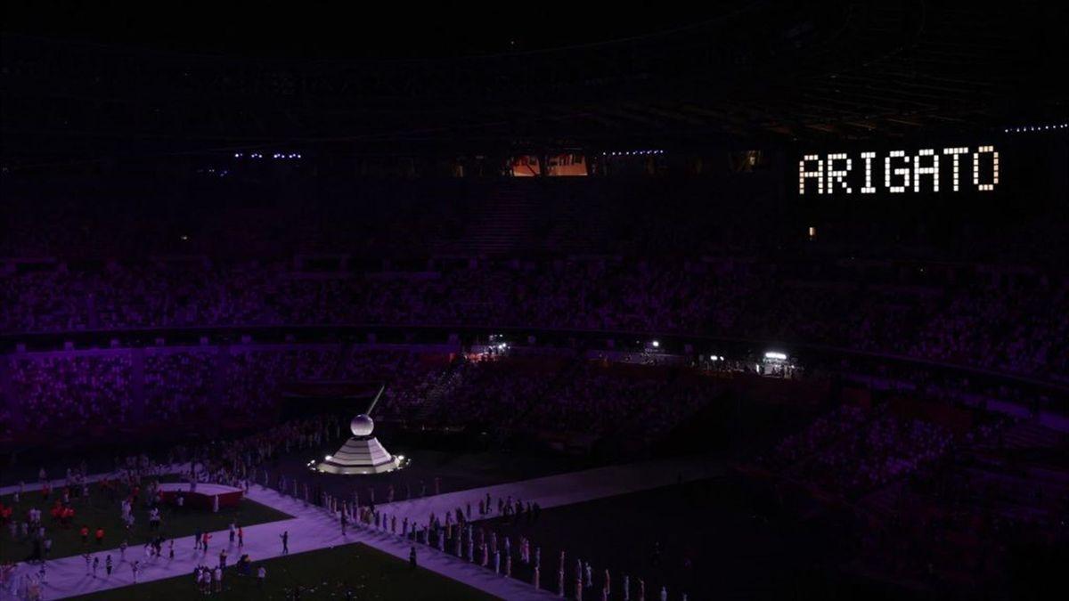 """""""Arigato"""", das japanische Wort für """"Vielen Dank"""": Die Olympischen Spiele von Tokio sind beendet"""