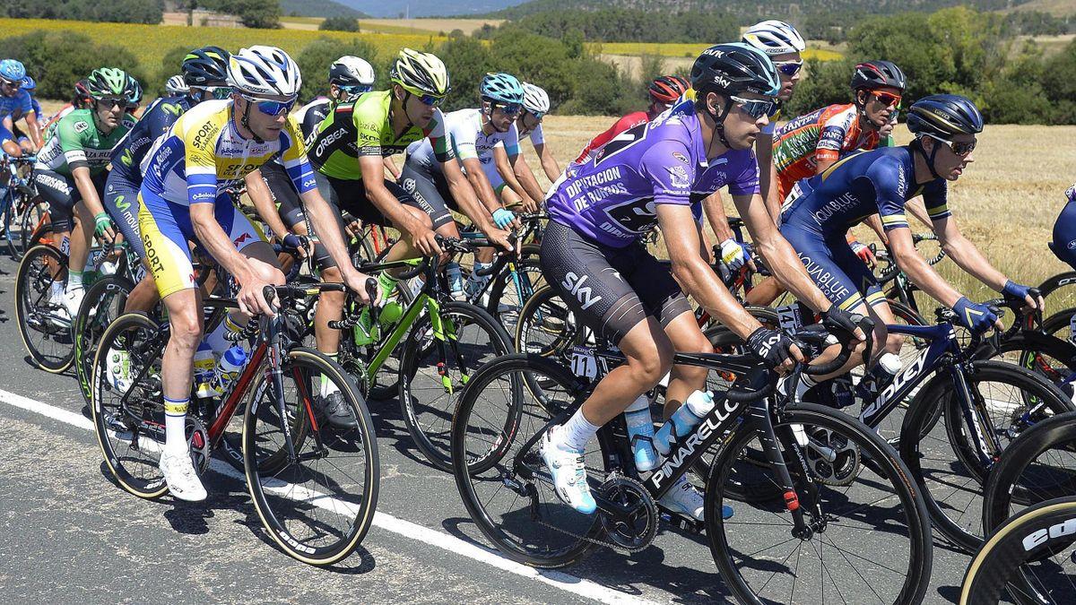Mikel Landa (Sky) sigue al frente de la general en la Vuelta a Burgos