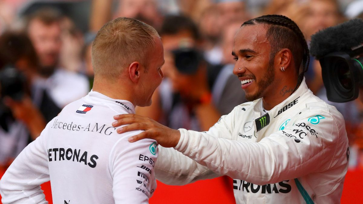 Lewis Hamilton, Valtteri Bottas (Mercedes) - GP of Germany 2018