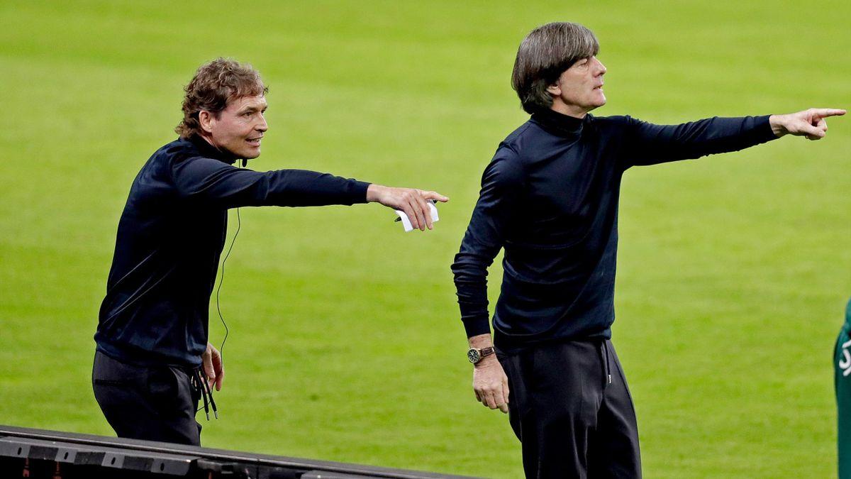 Marcus Sorg (links) und Joachim Löw