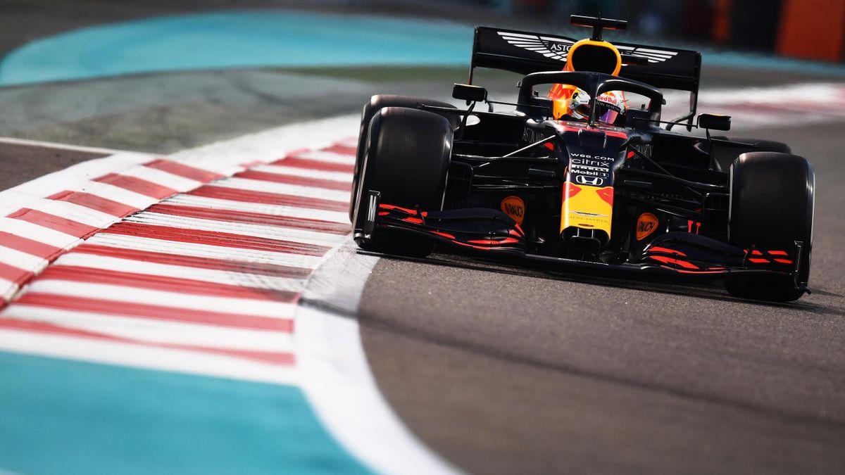 Max Verstappen (Red Bull) in Abu Dhabi