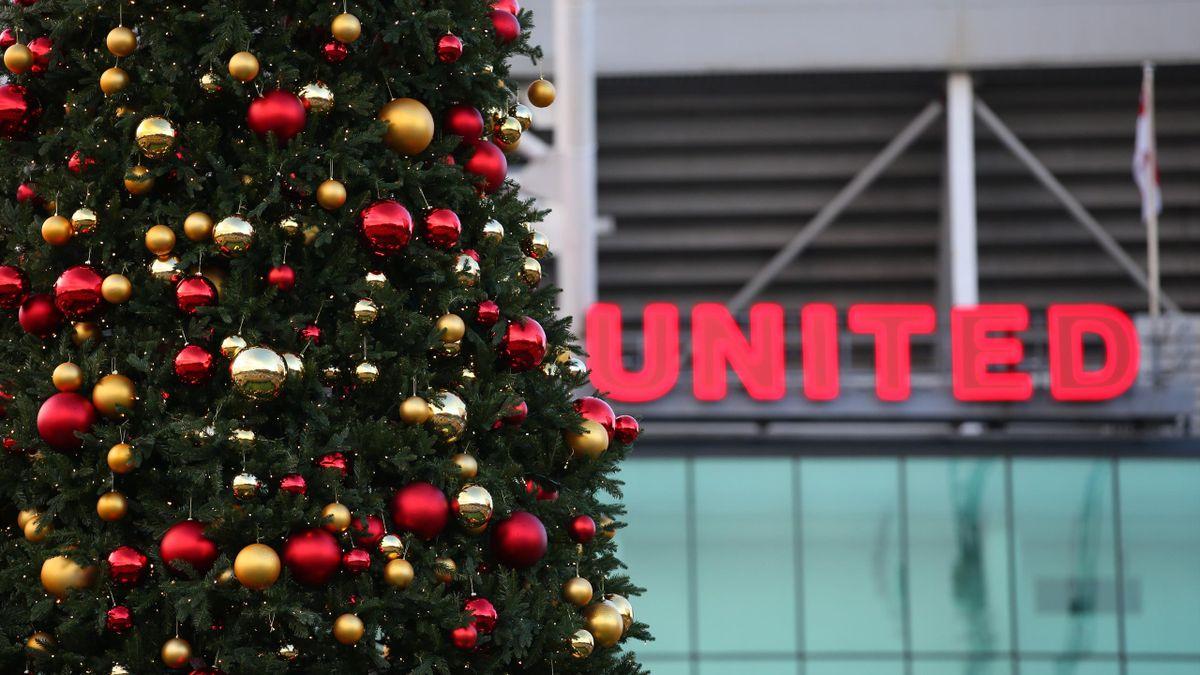 Old Trafford, l'antre de Manchester United, en décembre 2020