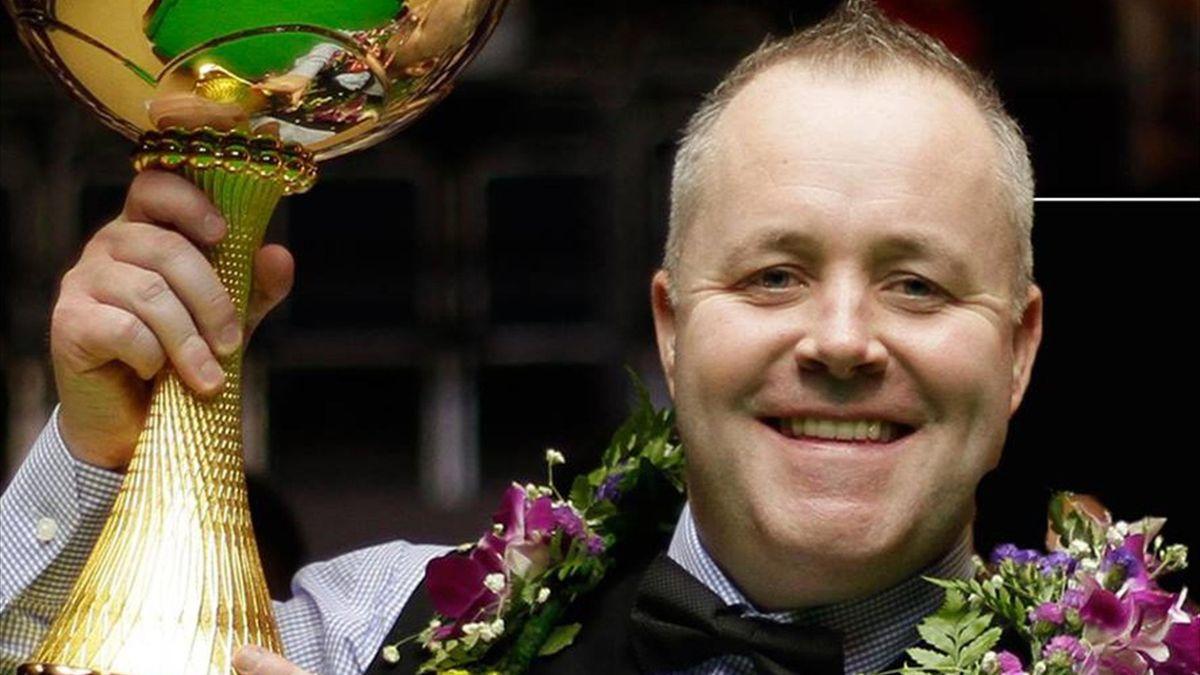 John Higgins wins the China Championship.