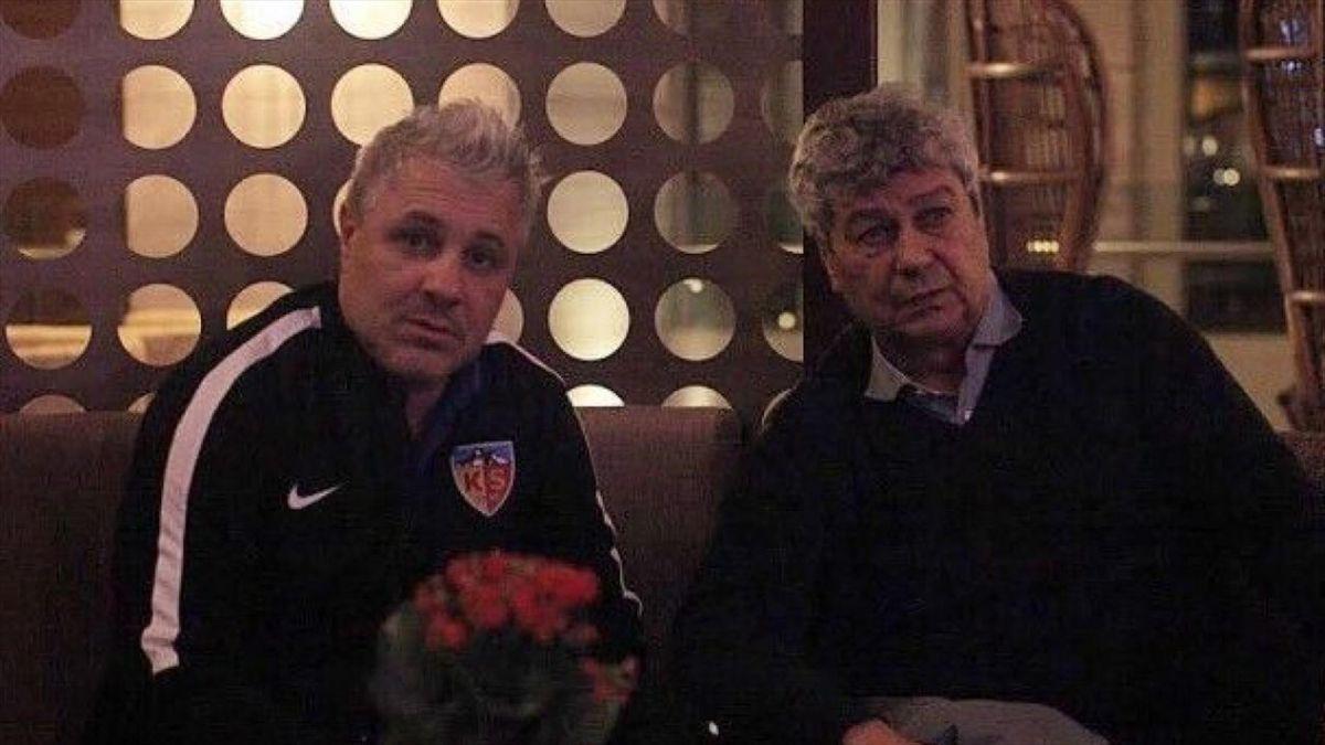 Marius Șumudică & Mircea Lucescu