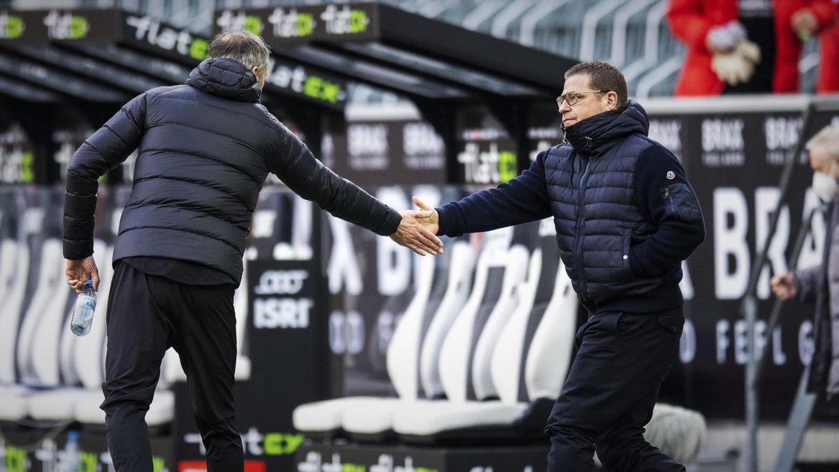 Gladbachs Sportchef Max Eberl muss einen Nachfolger für Marco Rose finden.