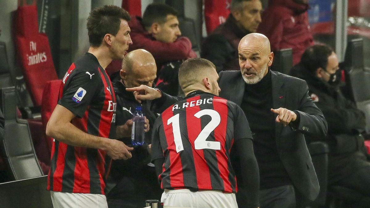 "Serie A. Milan-Atalanta, Pioli: ""Atalanta bestia nera. Turnover con  l'Inter? Ci penso"" - Eurosport"