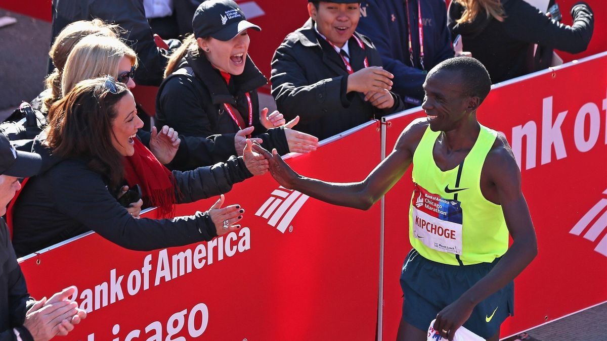 Элиуд Кипчоге выиграл Чикагский марафон-2014
