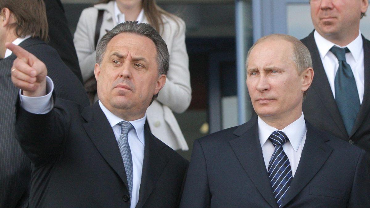 Vladimir Putin og Vitaly Mutko
