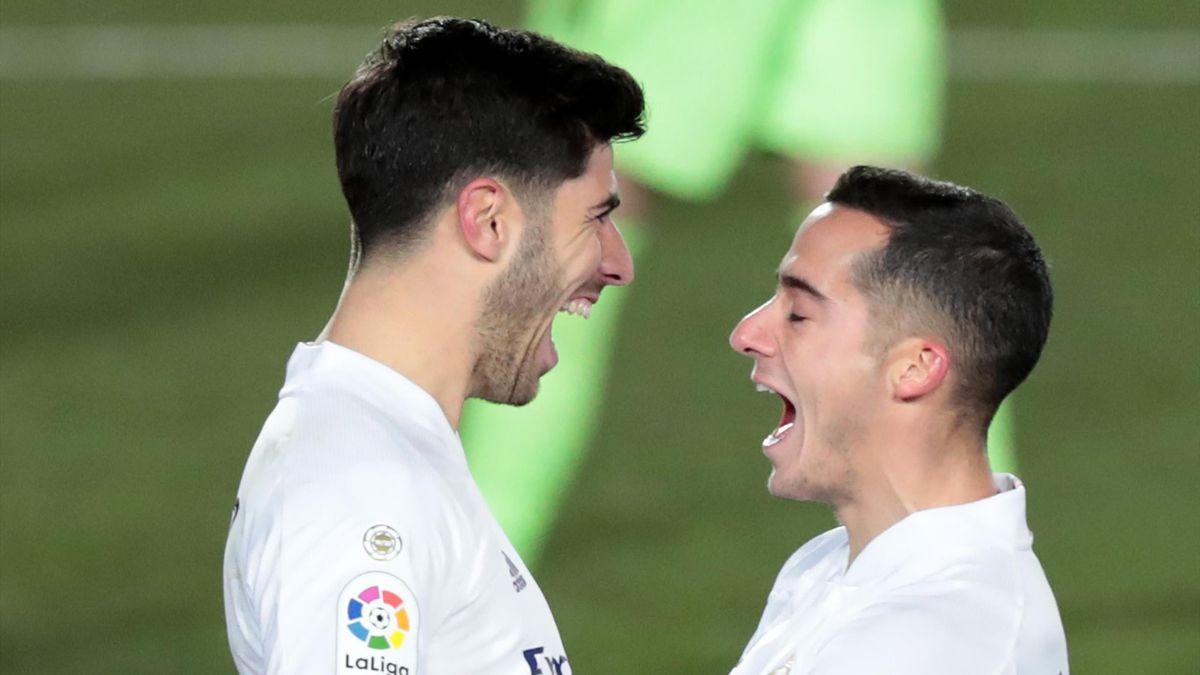 Marco Asensio y Lucas Vázquez (Real Madrid)