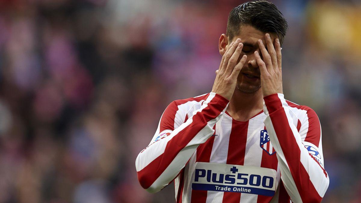 Alvaro Morata - Atlético Madrid-Espanyol - Liga 2019/2020 - Getty Images