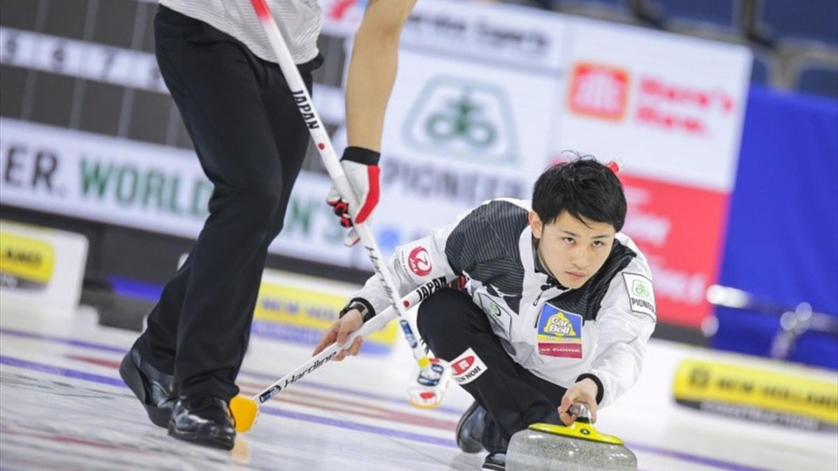 Japan skip, Yuta Matsumura (Credit World Curling)
