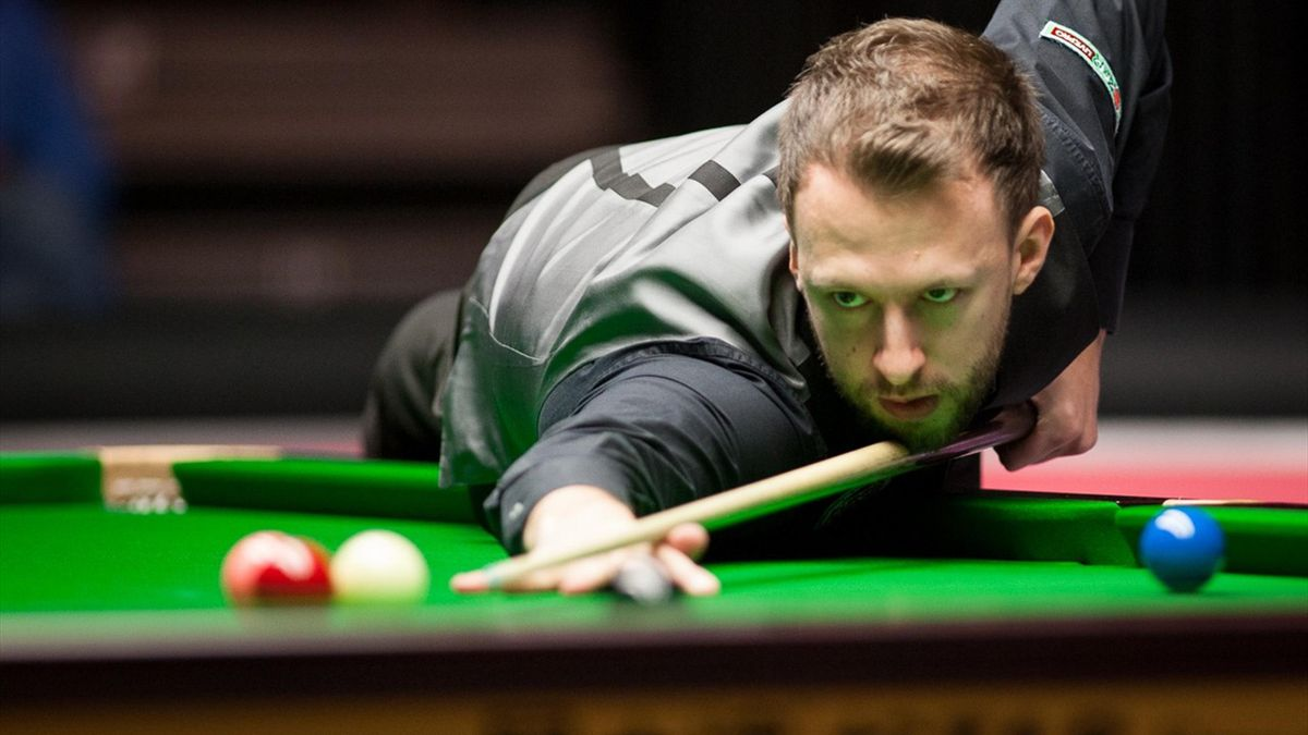 Judd Trump in action at the Masters.